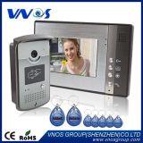 Villa de 7 pulgadas de timbre de llamada de vídeo Video Portero intercomunicador
