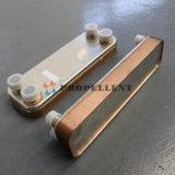 Condensador Calefacción central de la placa de cobre suelda el intercambiador de calor