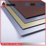 El panel compuesto de aluminio aplicado con brocha de la venta caliente Finished