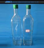 bouteille en verre de conteneur d'huile de l'olive 400ml/500ml et de pétrole de Seasome