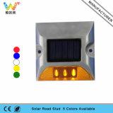 Amarillo parpadeando reflector 3M Ojo de Gato Carretera Solar LED Marcador
