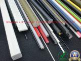 Rodada de FRP sólida e durável personalizada, haste de fibra de vidro