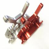 Partie d'usinage CNC de haute précision avec l'aluminium