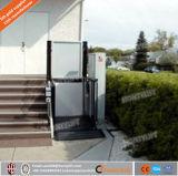 옥외 수직 전기 유압 휠체어 엘리베이터 상승