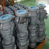 API 6D Cast Steel Flanged Floating Ball Valve (Q41F)