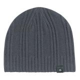 Acrílica preta personalizada Hat Listra simples Beanie Hat
