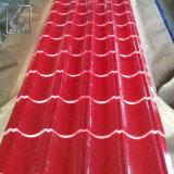 Ral 3011 PPGI G550 Z120 gewölbtes Dach-Blatt