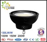 최신 판매 산업 정착물 IP65 100W UFO LED Highbay 빛, LED 산업 가벼운 창고를 사용하는