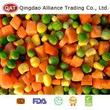 3-полосный замороженные овощи смеси (зеленый горошек/семян сахарной кукурузы/моркови)