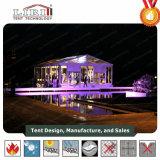 Tenda libera classica di cerimonia nuziale di Liri con le pareti di vetro