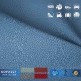 Couro de PVC para mobiliário sofá de couro PU Leathersofa Material de couro