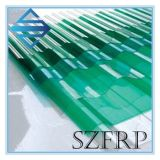 ガラス繊維の天窓FRP GRPの屋根ふきシートを波形を付けなさい