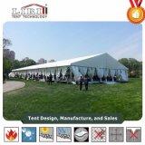 Шатер шатёр венчания церков рамки PVC Ferrari 500 людей напольный шикарный белый алюминиевый