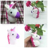 Ralentir la hausse de la tête d'Unicorn Squishies charme Kawaii Squishies Toy