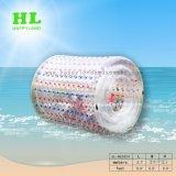 Bal van de Rol van het Water Zorb van de Kleur van de zomer de Grappige Opblaasbare Waterball