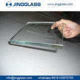 Borrar el vidrio de flotador Inferior-e laminado templado hoja inferior coloreado del hierro para el vidrio del edificio