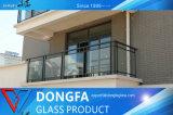 prix d'usine économique tempéré le verre feuilleté pour la construction résidentielle rambarde