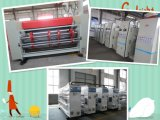 高速波形のフレキソ印刷の印刷および型抜き機械に細長い穴をつけること