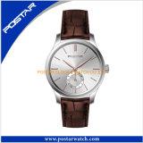 工場ローズの金張りの熟練したデザイン水晶腕時計
