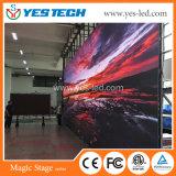 En el interior de la publicidad electrónica a todo color Panel de pantalla LED