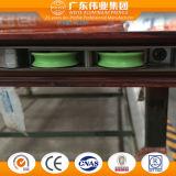 Indicador de vidro de alumínio de deslizamento do perfil da classe superior feito na fábrica de Dali