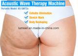 Cuerpo adelgaza la onda acústica inteligente / equipo de terapia de ondas de choque
