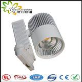 高品質AC100-265Vの上の販売LED 25Wトラック点は2700K-6500Kをつける
