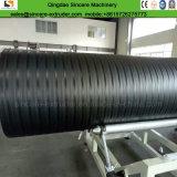 HDPE水排水配管の突き出る機械