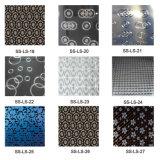 La SGS 201 304 l'impression laser Plaque décorative en acier inoxydable