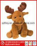 성탄 선물 선전용 견면 벨벳 Keychain 사슴 장난감