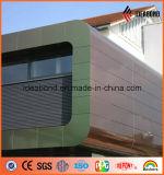 Feuille de panneau composite en aluminium revêtu de PV Spectra PE PVDF
