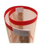 PTFE покрытием из стекловолокна Сетчатая транспортной ленты