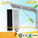 CIR를 가진 1개의 통합 LED 태양 가로등에서 60 W 전부의 정부 프로젝트 최신 판매