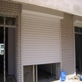 Алюминиевые Antitheft изолированные высокоскоростные двери штарки завальцовки (HF-2012)