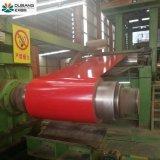 Gi de l'acier prépeint bobine PPGI galvanisé recouvert de couleur