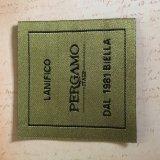 Etiqueta tejida personalizado para la venta