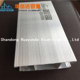 Perfil sacado de anodización del aluminio de la ventana del OEM 6063