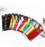 3.5cm breite normale Farben-Stretchable Aufhängevorrichtung für Männer