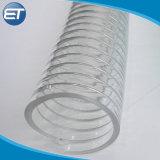 Tuyau en PVC de qualité alimentaire avec Pure extruder spirale métallique en acier