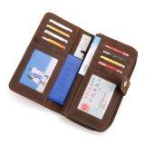 Новейшая конструкция из высококачественной натуральной кожи кредитные карты Wallet поездки Wallet