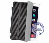 iPad Air 2를 위한 Functional 다중 PU Leather Carbon Fiber Smart Cover