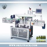 Bouteille d'huile plat carré automatique de plusieurs côtés à l'étiquetage de la machine