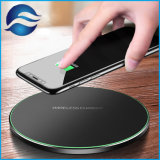 chargeur de batterie mobile dernier style Coque Métallique Qi 2d'un chargeur sans fil rapide