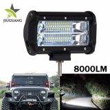 도매 트럭 지프 반점 플러드 이중 줄 72W LED 표시등 막대
