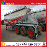 3개의 차축 알루미늄 밀가루 사일로 탱크 시멘트 Bulker 트레일러