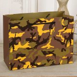 Custom Fashion / Camouflage / Leopard saco de embalagem de papel impresso / Custom Design Shopping Bag