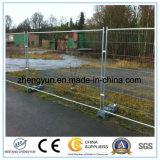 Hecho en cerca temporal galvanizada patio de la cerca de China