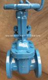 A ANSI 150lb válvula gaveta de ferro fundido, tipo flangeado FF/RF