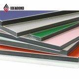 Горячий серебристый металлик строительных материалов по продажам алюминиевых композитных панелей