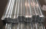Galvanisierte gewölbte Stahlbodenplatte und Blätter in China